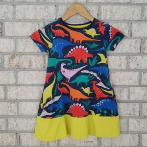 Mini Boden Dinosaur Print Dress